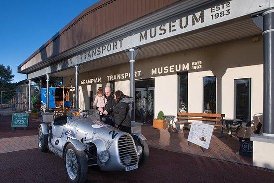 Entrada al Museo Grampian Transport