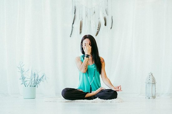 Yoga, pranayama and meditation class