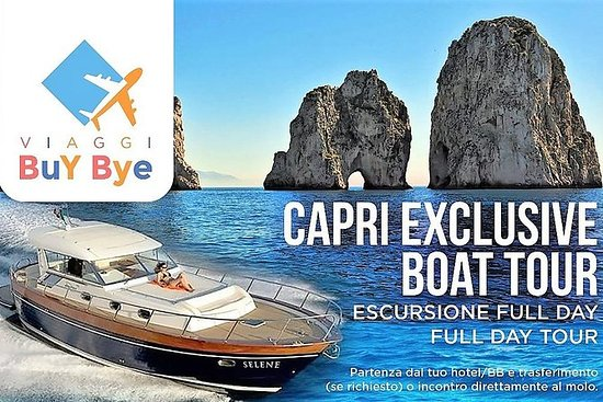 EXCLUSIVE TOUR OF THE ISLAND OF CAPRI