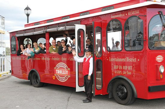 Trolley City Tour of Kingston