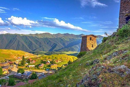 Visite privée de Koutaïssi à Svaneti