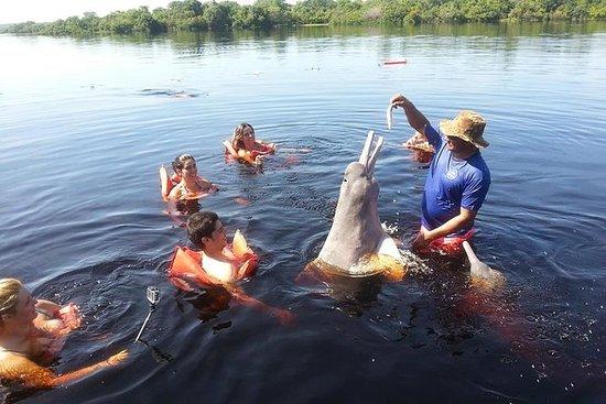 Encontro das Águas, Tribo indígena e...
