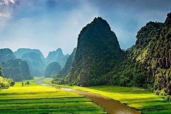 Hoa Lu - Mua-Höhle - Tam Coc mit...