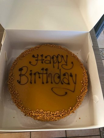 Fabulous Pre Made Birthday Cake Caramel Mudcake Available In Store Funny Birthday Cards Online Fluifree Goldxyz