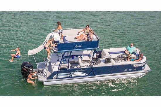 On The Pontoon Boat