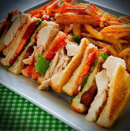 Quesada, Costa Rica: Club Sandwich: A classic food made with our touch of love
