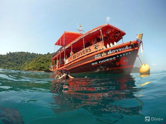 Koh Mak, Tailandia: BB divers Kooh Mak boat