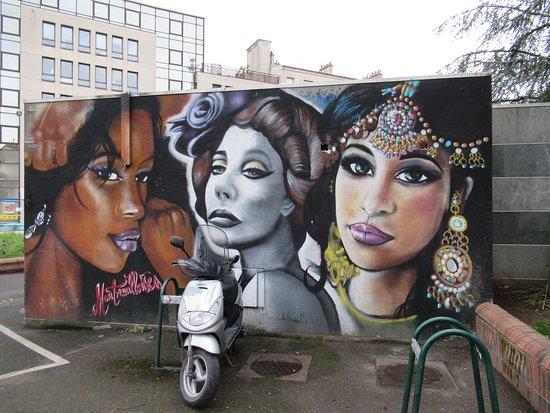 Fresque Les Montreuilloises