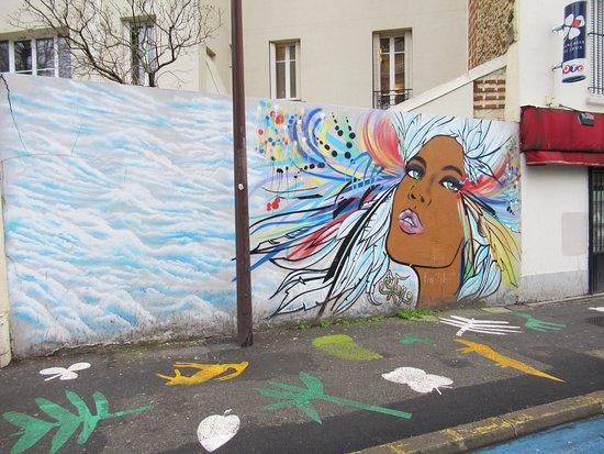 Fresque Angel