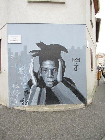 Fresque Jean Michel Basquiat