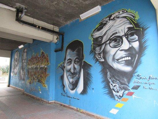 Fresque Galerie de Portraits