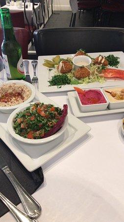 Excellent restaurant Libanais