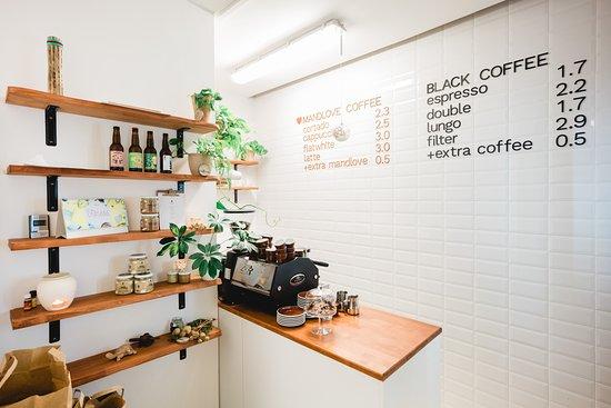 mandlove SRDCO: Our coffee and mandlove menu