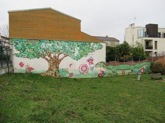 Fresque Le Pommier