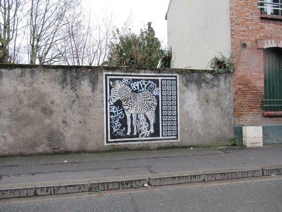 Fresque Le Zebre-2