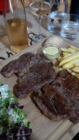 La Planxa: Steak Cote d Boeuf