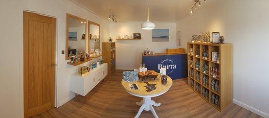 Isle of Barra, UK: Our Island shop