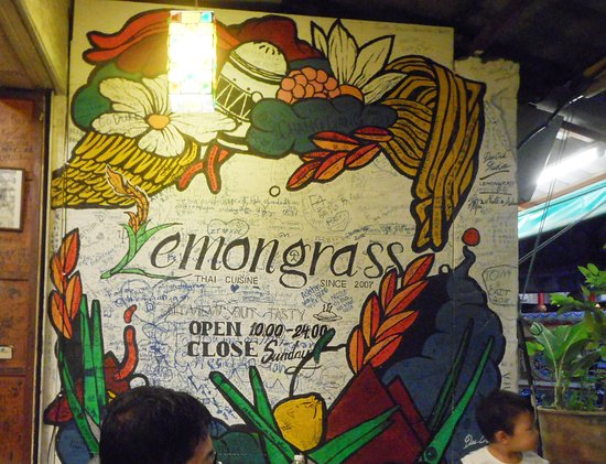 Lemongrass Thai Restaurant: Lemongrass sign