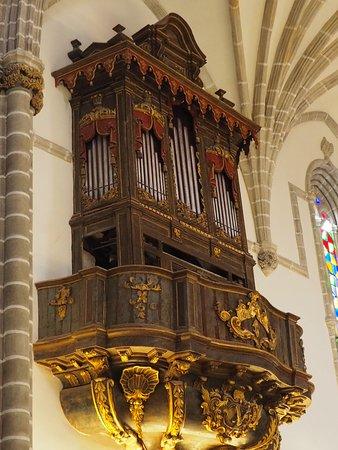 The organ, still in use!