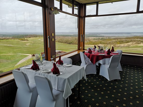 Isle of Purbeck, UK: View from restaurant
