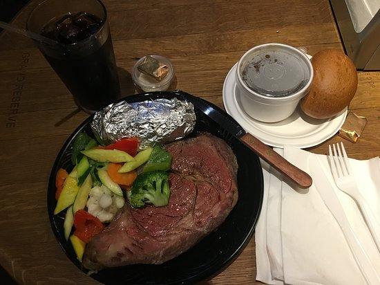 ‪סן ברונו, קליפורניה: Prime rib special (it was a Saturday)‬