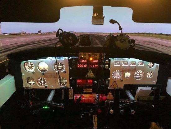 Κάστλφορντ, UK: Cessna 172