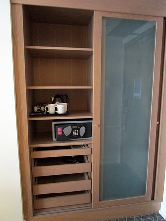 Closet and drawer area