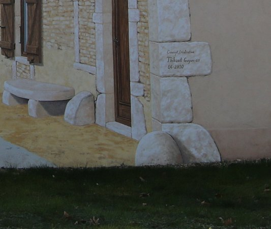 Fresque de la Commune de Saint-Albain
