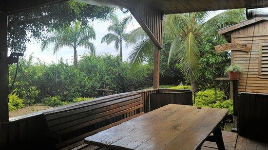 'Eua Island, Tonga: common area/dining area