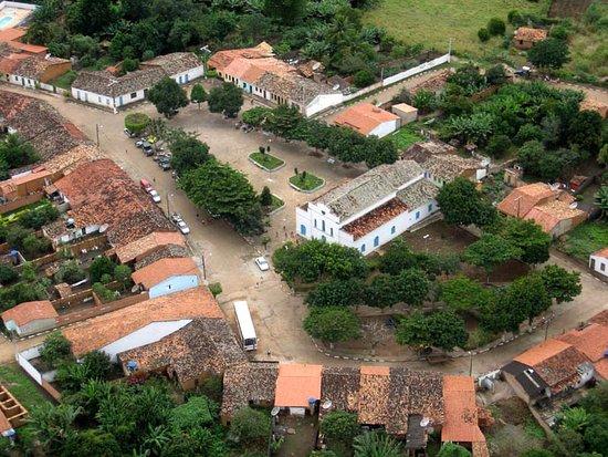 Vista Aérea da Vila de Itaitu - Jacobina/Bahia - Foto de Matheus Carvalho, Sempre Criativos.