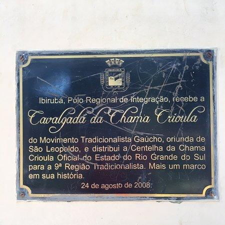 Ibiruba, RS: Praça Central de Ibirubá