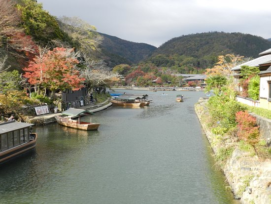 Kyoto Prefecture, Japón: 大堰川嵐山通船乗場
