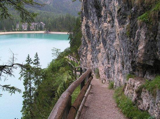 Anterselva di Mezzo, Italië: Scorcio sul Lago di Anterselva (BZ)