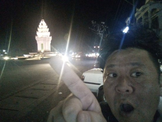 Independence monument in Pailin