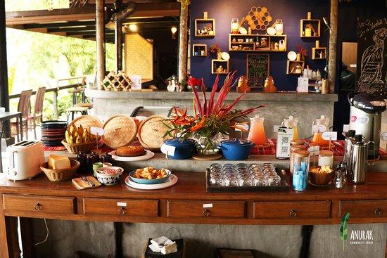 Anurak Community Lodge: Buffet breakfast included