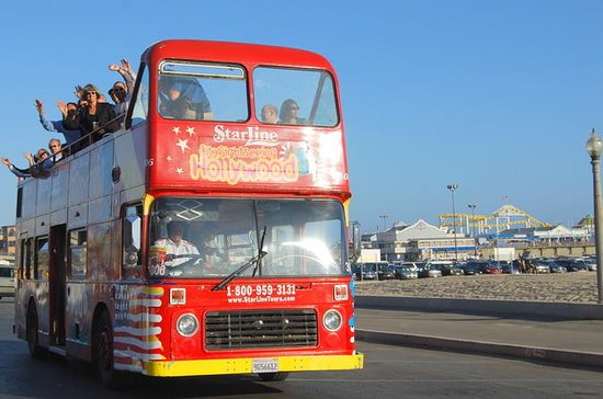 Los Angeles Hop On Hop Off Double Decker Bus Tour Provided By