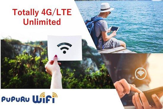 日本WiFiレンタル_4G/LTE完全無制限、成田空港ピックアップ