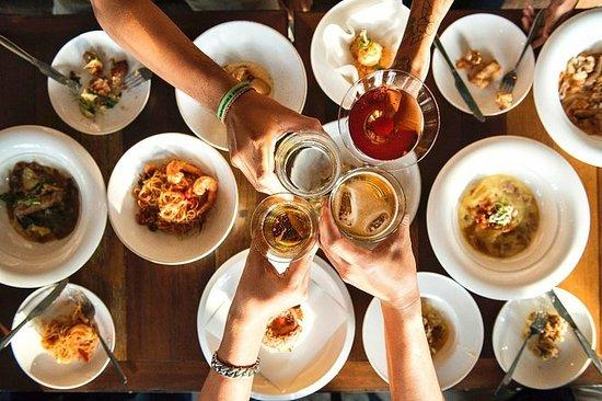 Aperitivo em Turim: jantar buffet...