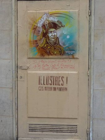 Fresque Toussaint Louverture