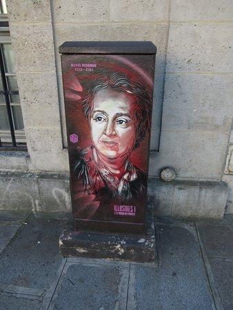 Fresque Denis Diderot
