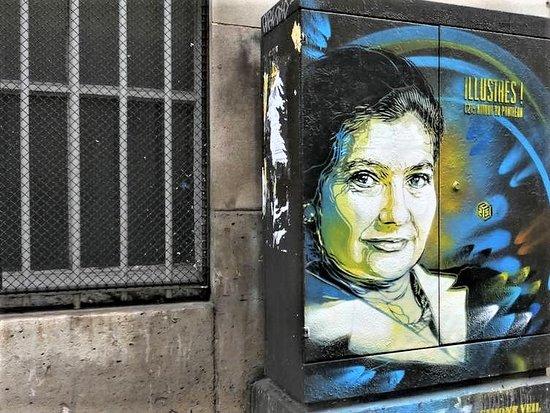 Fresque Simone Veil