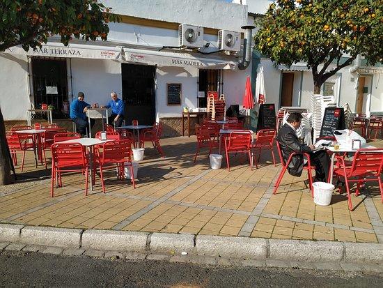 Bar Terraza Mas Madera Fotografía De Bar Terraza Mas