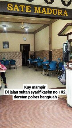 Dumai, Indonesia: Sate ayam madura