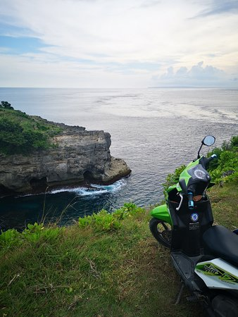 Nusa Penida, Indonesia: hard road but