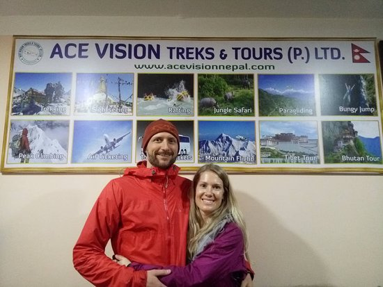 Travelers who visit Ace vision Treks & Tours office