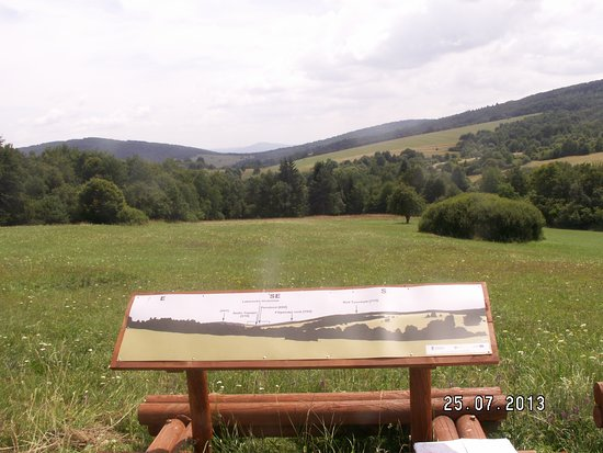 Subcarpathian Province, Poland: Widok na stronę Słowacką