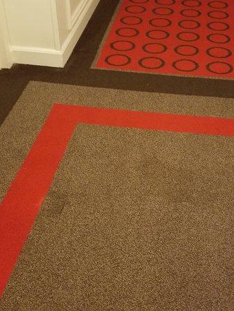 Hallway Carpet Stain 1
