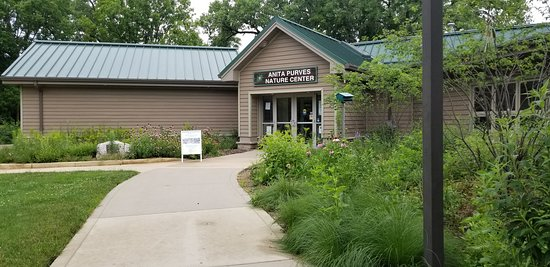Urbana, IL: The Anita Purves Nature Center is open year-round and admission is always free! Picture by Tyson Kruse.