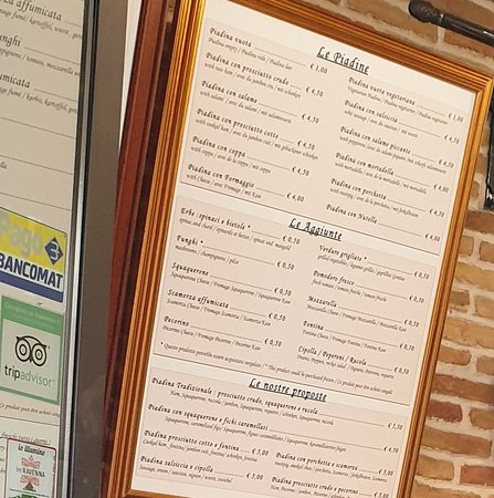 Try a Piadina tradizionale
