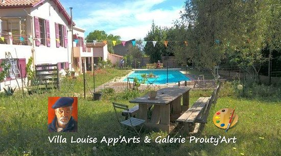 Villa Louise App'Arts et Galerie Prouty'Art